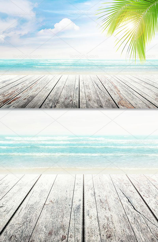 پس زمینه ساحل