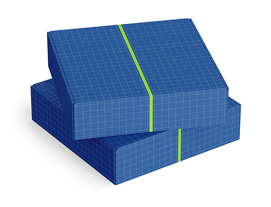 موکاپ لایه باز بسته بندی جعبه