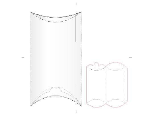وکتور طرح گسترده جعبه کادو