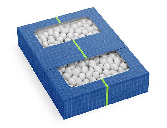 موکاپ لایه باز جعبه شکلات
