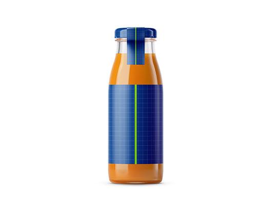 موکاپ بطری آب هویج